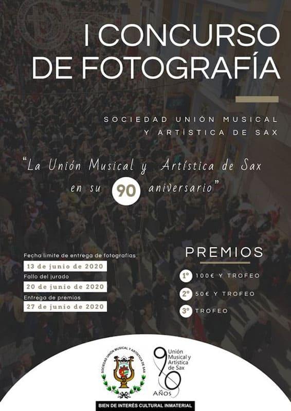 I Concurso de Fotografía Unión Musical y Artística de Sax