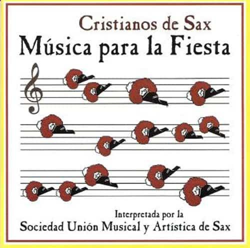 """Cristianos de Sax """"Música para la Fiesta"""""""