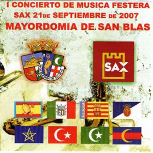 """I Concierto de Música Festera """"Mayordomía de San Blas"""""""