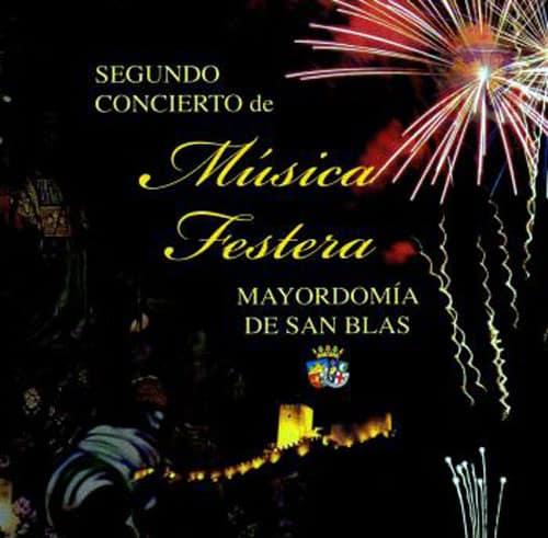 """II Concierto de Música Festera """"Mayordomía de San Blas"""""""