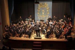 Banda educandos de Unión Musical de Sax