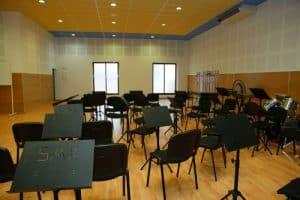 Local social de Unión Musical de Sax